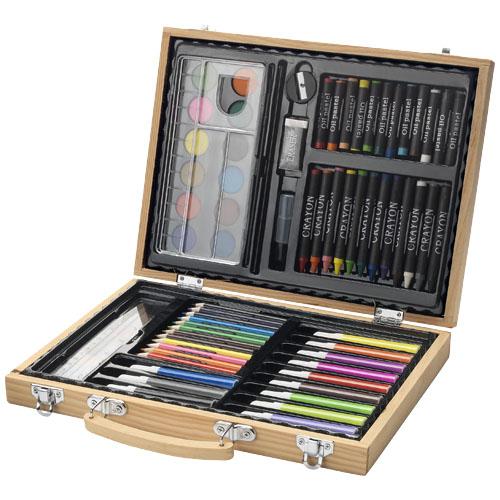 67-elementowy zestaw do malowania i rysunku Rainbow (10607200)
