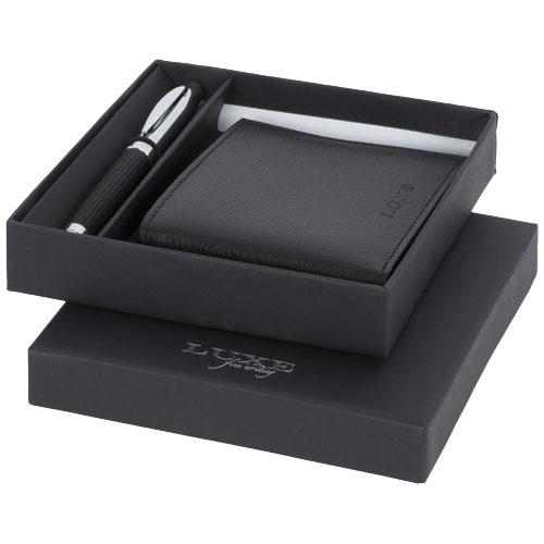 Zestaw upominkowy długopis i portfel Baritone (10711400)