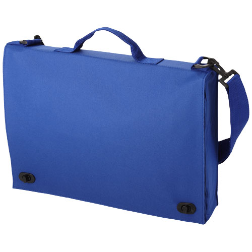 Santa Fe 2-buckle closure conference bag