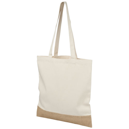 Delhi cotton jute tote bag