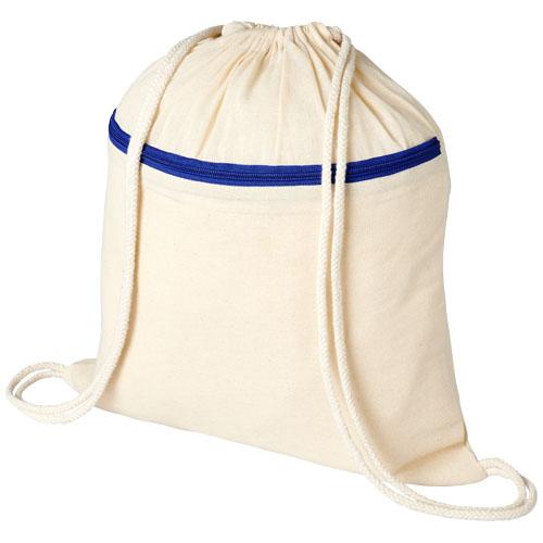 Oregon zippered drawstring backpack