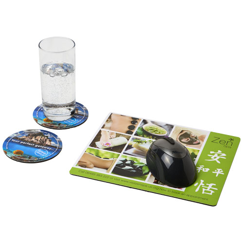 Podkładka pod mysz Q-Mat® i zestaw podkładek pod naczynia combo 2 (21059700)