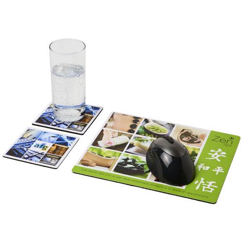 Podkładka pod mysz Q-Mat® i zestaw podkładek pod naczynia combo 3 (21059800)