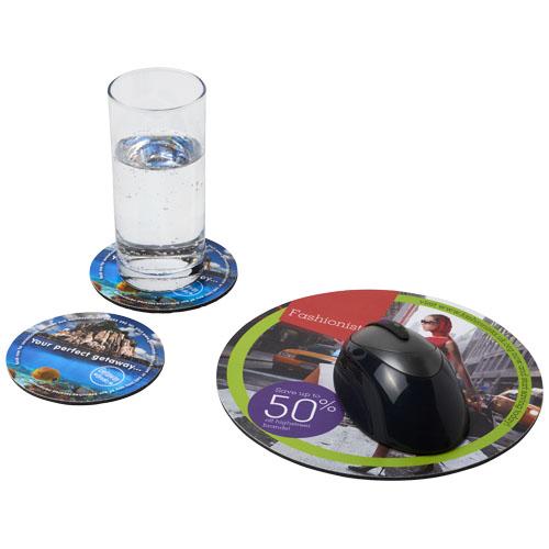 Podkładka pod mysz Q-Mat® i zestaw podkładek pod naczynia combo 5 (21060800)