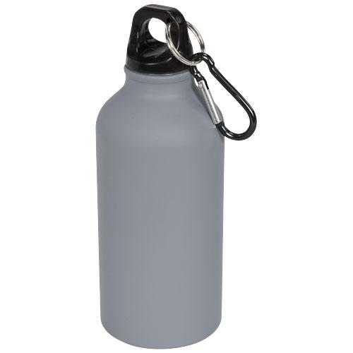 Oregon 400 ml matte sport bottle with carabiner