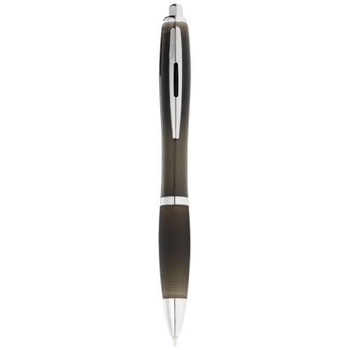 Nash ballpoint pen coloured barrel and black grip