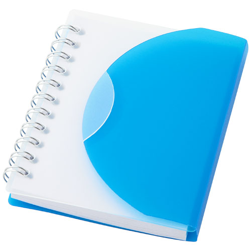 Post A7 spiral notebook with blank pages