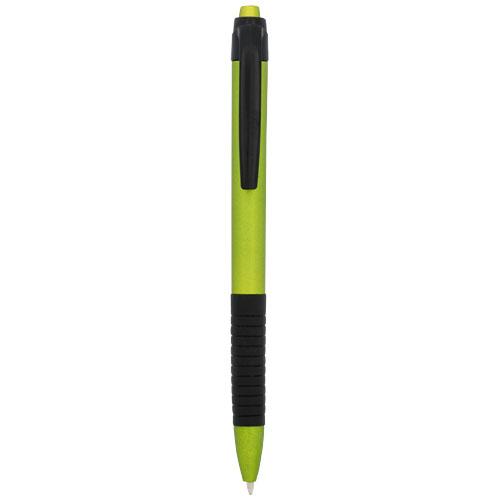 Spiral ballpoint pen