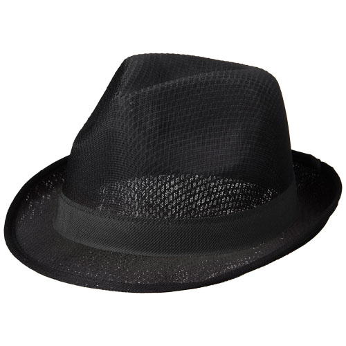 Trilby hat with ribbon