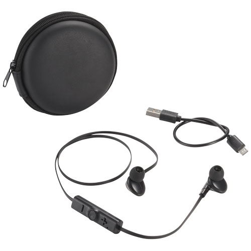 Sonic Bluetooth® earbuds with carrying case