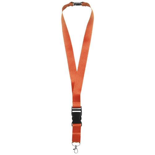 Yogi lanyard detachable buckle break-away closure