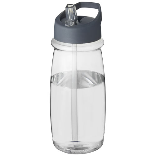 H2O Pulse 600 ml spout lid sport bottle