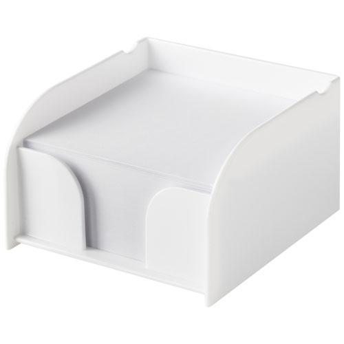 Vessel medium memo block and holder