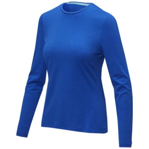Ponoka long sleeve women's GOTS organic t-shirt