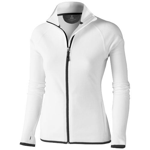 Brossard micro fleece full zip ladies jacket